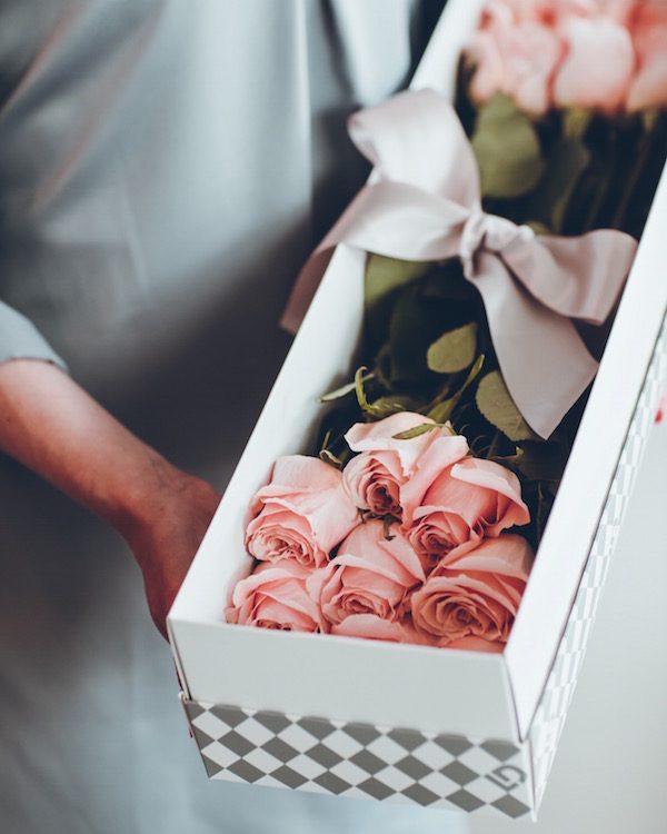 pastel ruze u kutiji lela design