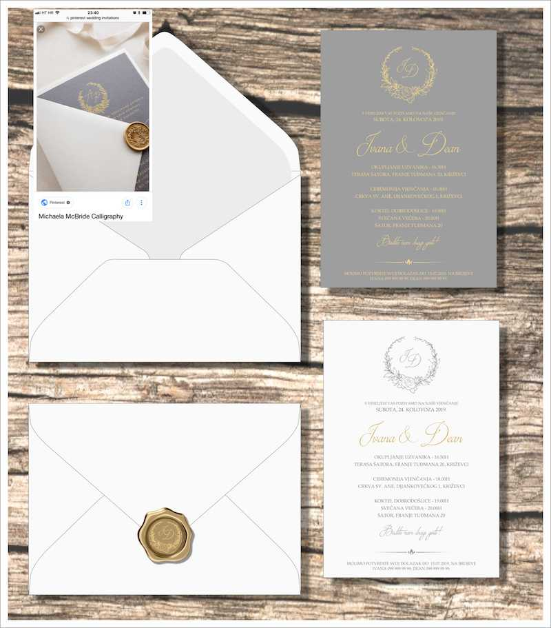 invitations and printed materials by Lela Design