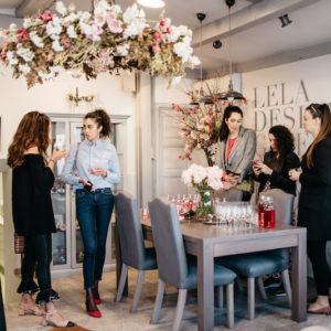 Lela Design cvjetna radionica cvjetne krune Nivea